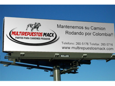 Multirepuestos Mack Logo Billboard